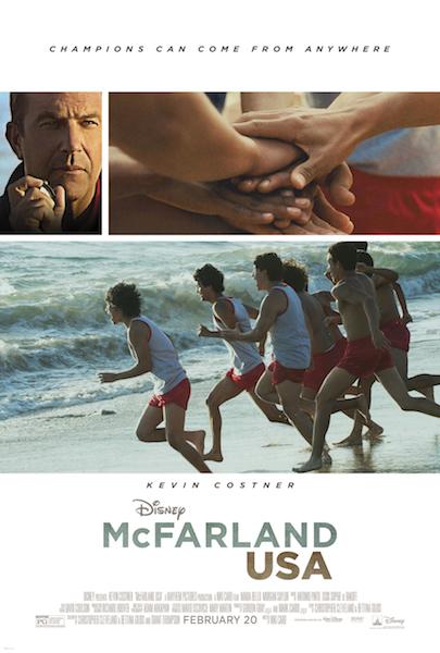 McFarland Kevin Costner