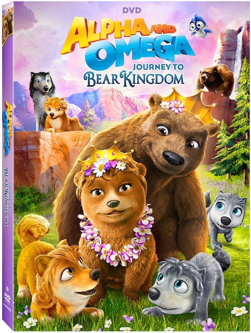 Alpha and Omega-Journey to Bear Kingdom DVD
