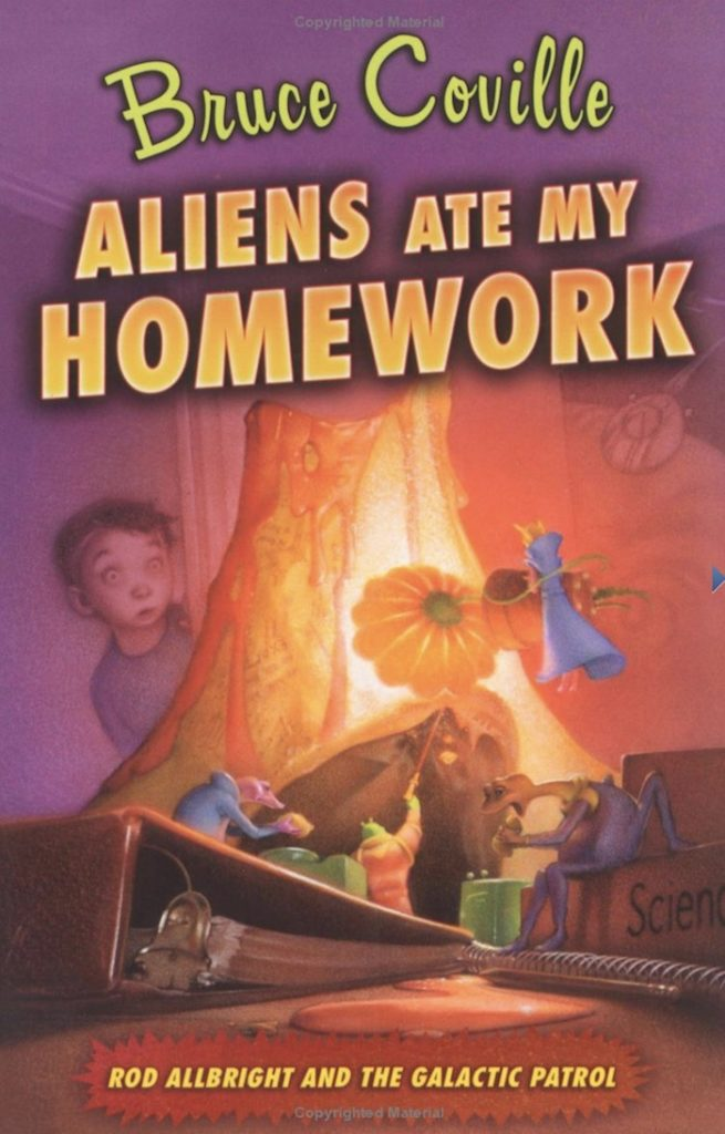 Aliens Ate My Homework, Book by Bruce Coville