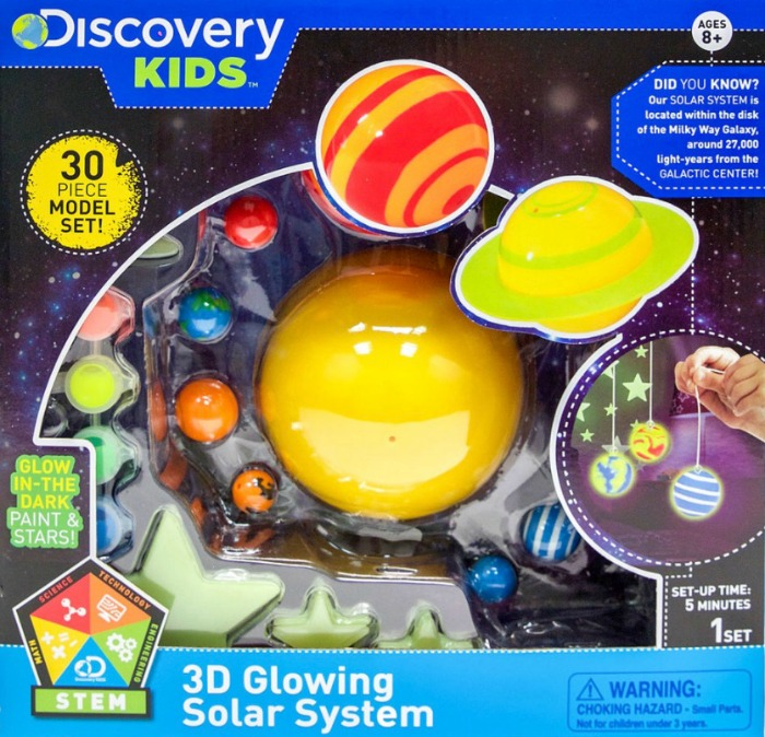 Discovery Kids 3D Glowing Solar System