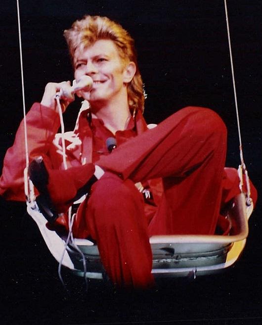"David Bowie wrote his own epitaph with 'Lazarus' (Photo credit: ""BowieRaR87"" by Elmar J. Lordemann)"